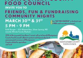 March 30 & 31, PLNT Burger Fundraiser